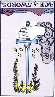 ase of swords Tarot