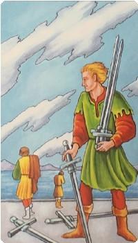 пятерка мечей значение в отношениях