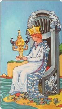 королева кубков в отношениях
