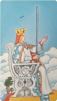королева мечей в любви