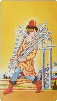семерка мечей в отношениях