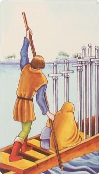 шестерка мечей значение в отношениях